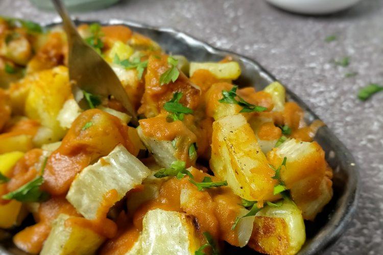 Patatas y boniatos bravos
